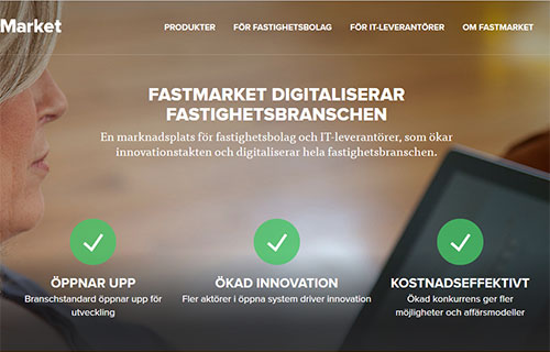 Skärmklipp från sajten fastmarket.se