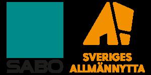 SABOs gamla logga och den nya loggan från Sveriges Allmännytta