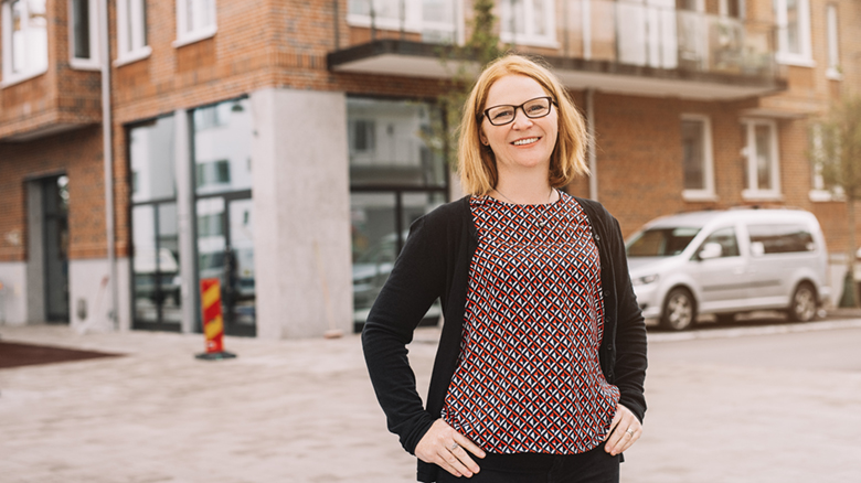 Lina Hallberg på Stångåstaden.