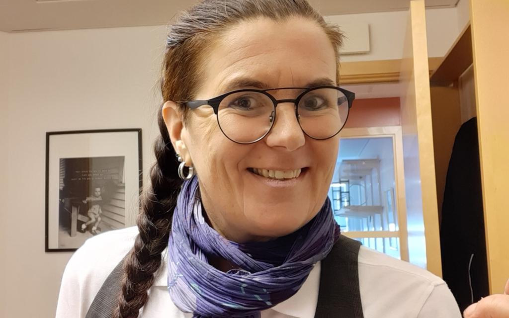 Akko Karlsson, hållbarhetsansvarig på Västerviks Bostads AB.